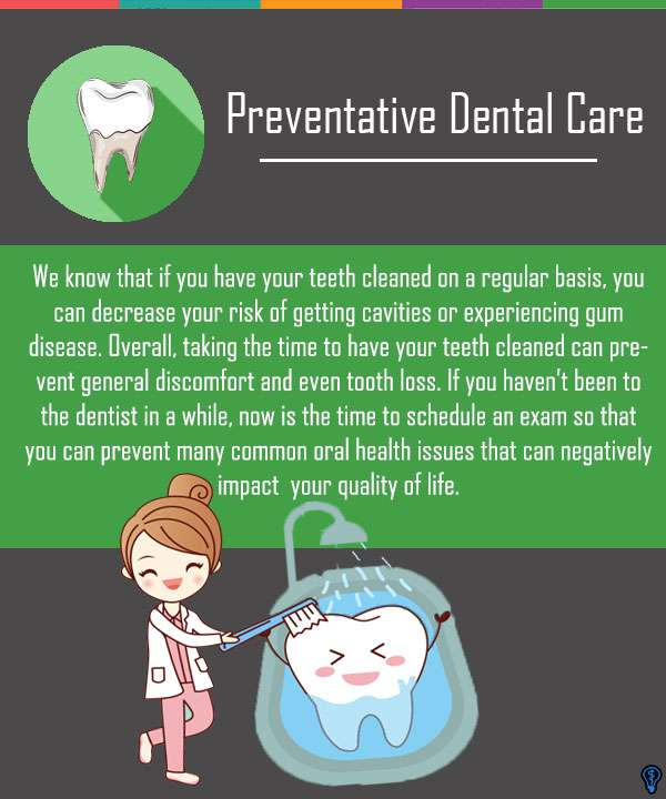 Preventative Dental Care When You Need It